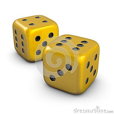 golden dice images