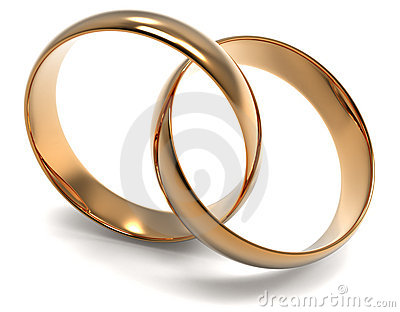 Two golden ring