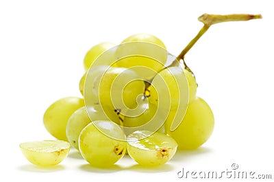 Two grape berries