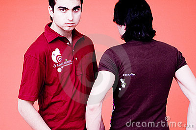 Two Guys-Dreamstime Shirts