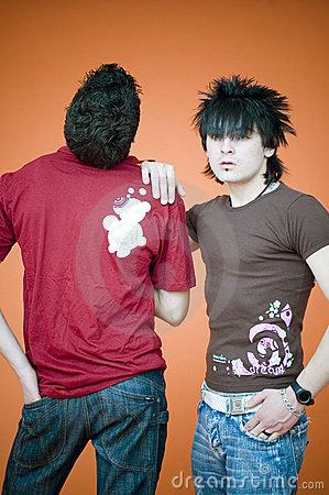 Two Guys, Dreamstime Shirts