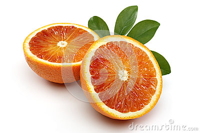 Two Half Blood Orange
