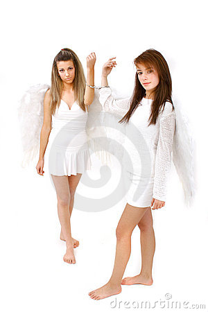 Two Hand Cuffed Angels