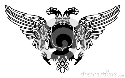 Two headed eagle coat of arms