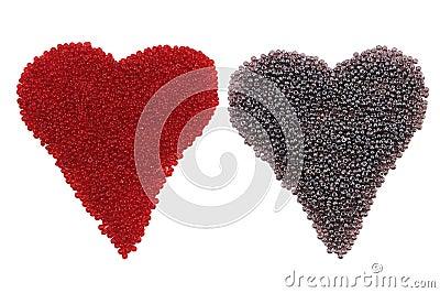 Two heart shape