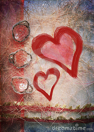 Free Two Hearts Stock Images - 17753594