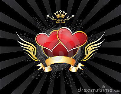 Two Hearts Emblem