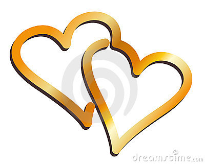 Two Hearts Symbol