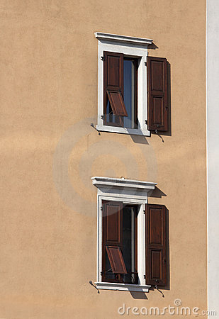 Two Italian windows