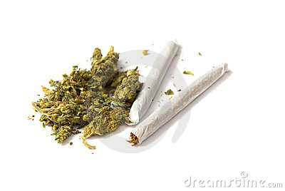 Two joints and pot