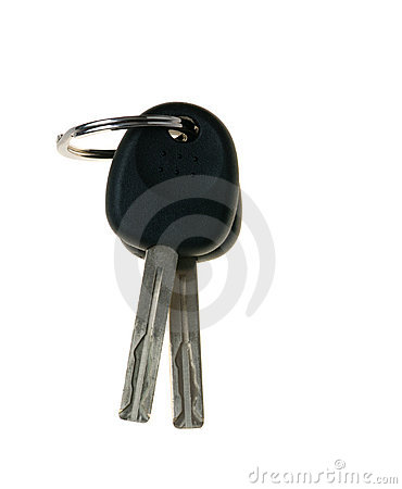 Free Two Keys From The Car Royalty Free Stock Photos - 4881738