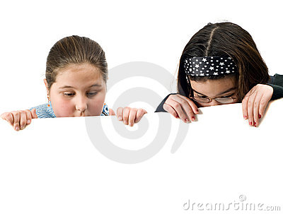 Two Kids Spying