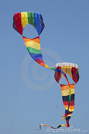 Free Two Kites Royalty Free Stock Photography - 15068687
