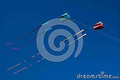 Two Kites flying high (Boy & Girl)