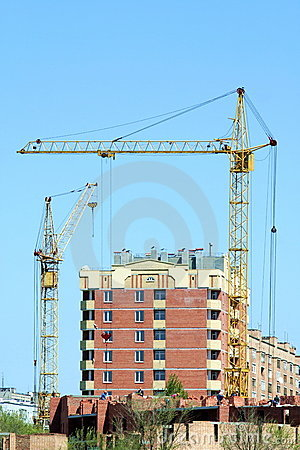 Two lifting cranes 2