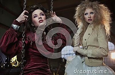 Two lovely women