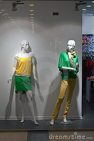 Free Two Mannequin Royalty Free Stock Images - 10478529