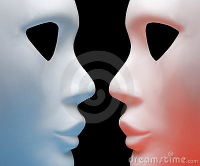 Two mask
