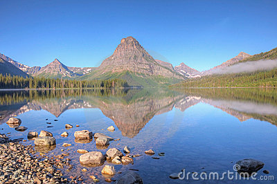 Two Medicine Lake Reflection