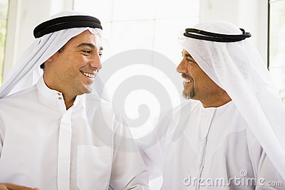 Two Middle Eastern men
