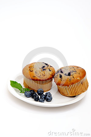 Two Muffins On A Saucer