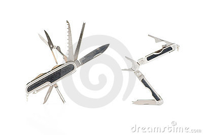 Two multi tool pliers