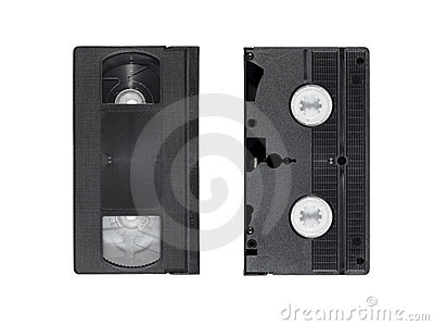 Two obsolete video tapes