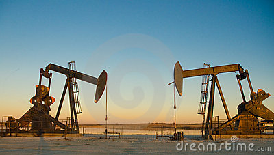 Two Oil Rig