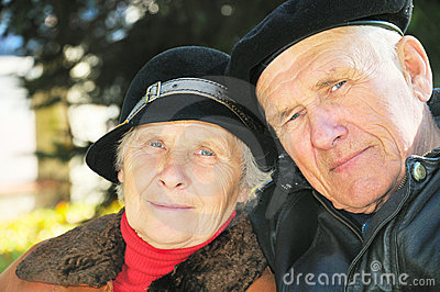 Two old people