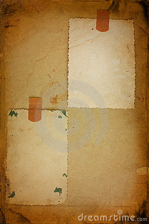 Two old photo frame