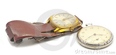 Two old watches