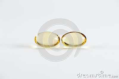 Two Omega-3 Capsules