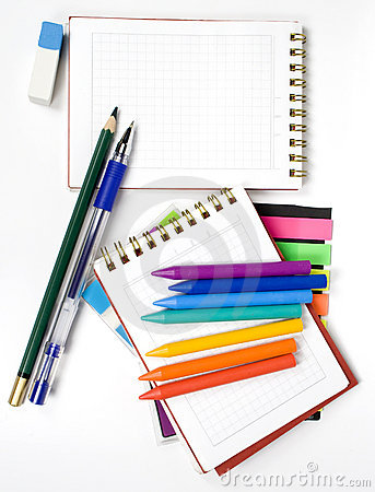 Two opposite notebook