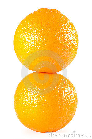Free Two Oranges Stock Photos - 16387003