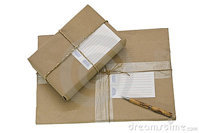 Two Packages/Parcels