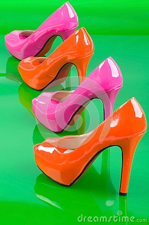 Two pair high heels.
