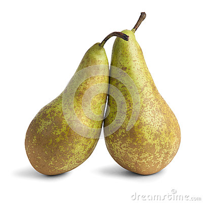 Free Two Pears Stock Image - 39598171