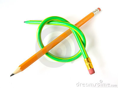 Two pencils (like a knot)