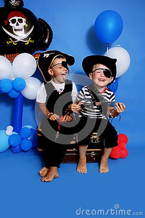 Free Two Pirate Stock Image - 30292321