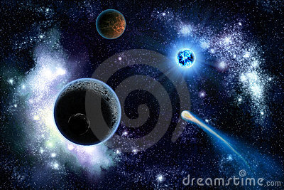 Two planets solar system
