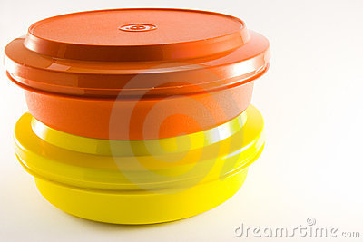 Two Plastic Food Containers