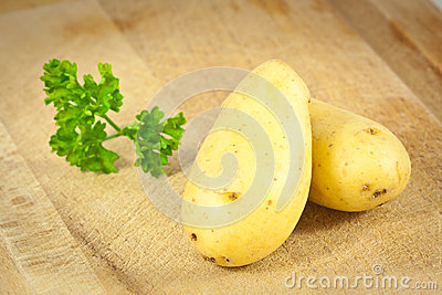 Two potatoes and Parsley