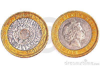 Two pounds coins