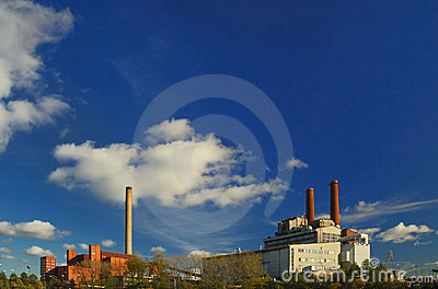 Two power plants