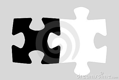 Two puzzle pieces