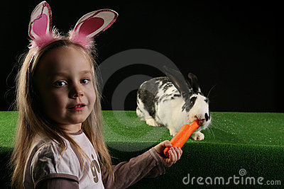 Two rabbits 3