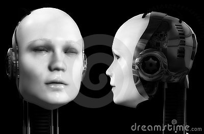 Two Robot Heads 2