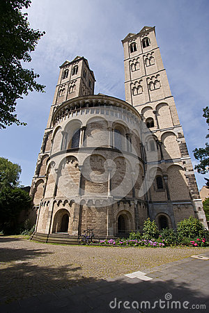 Two Romanesque towers