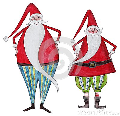 Two Santa Clauses