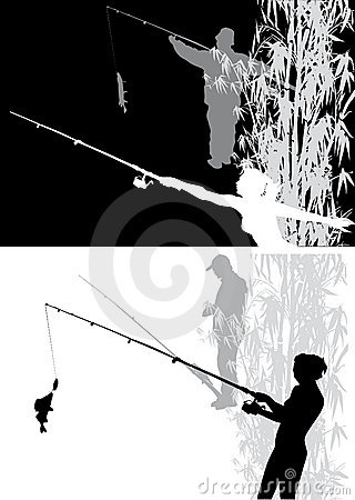 Two scenes with fishing